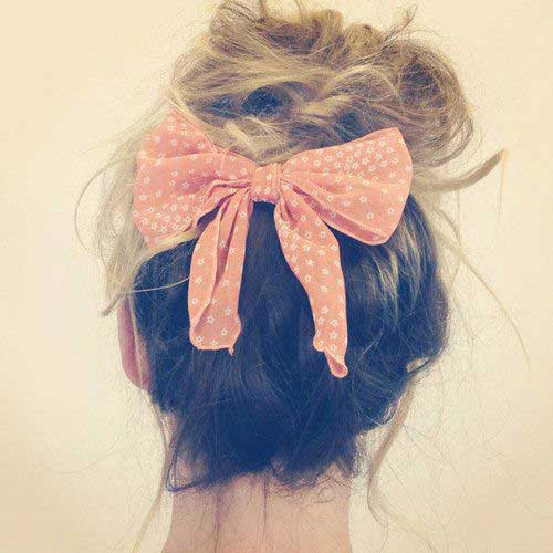 Hairstyles with Bows-8