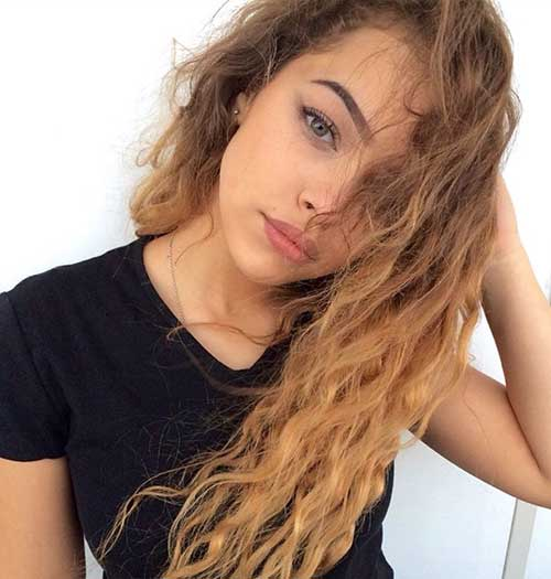 Light Curly Hair-8