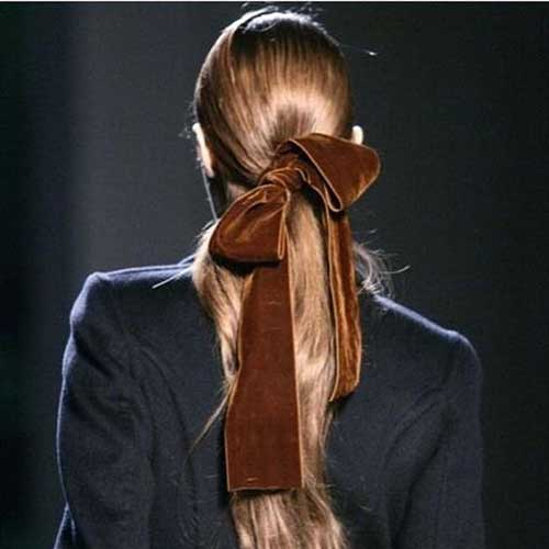 Hairstyles with Bows-9