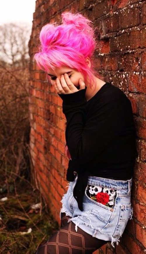 Punk Rock Hairstyles for Long Hair-9