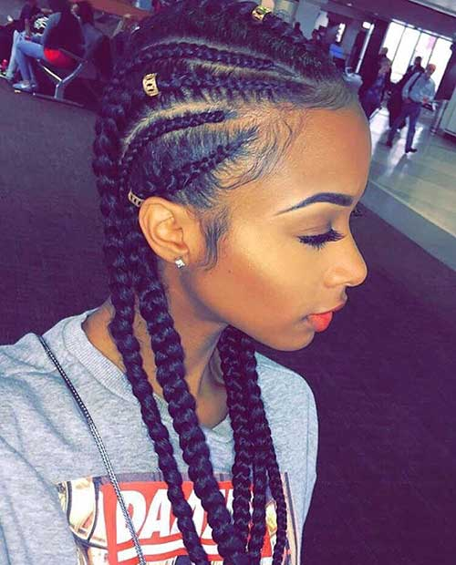 Superb 20 Braids For African Hair Hairstyles Amp Haircuts 2016 2017 Short Hairstyles For Black Women Fulllsitofus