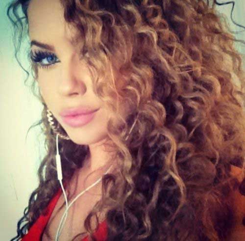 Curly Hair Trends 2015