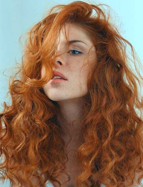 Cool Haircuts For Curly Red Hair Best Hairstyles 2017 Hairstyles For Women Draintrainus