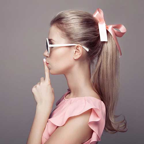 Cute Hairstyles with Bows