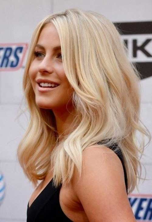 Innovative Long Blonde Straight Womens Hairstyle From The Web Collection