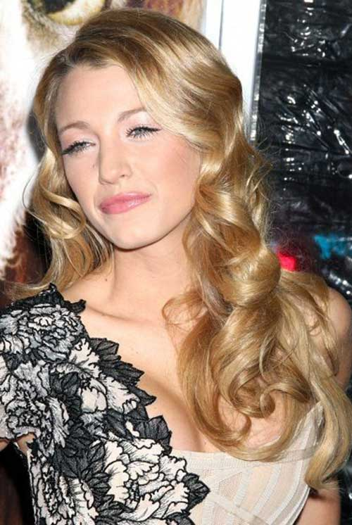 Hairstyles For Long Curly Hair Round Face