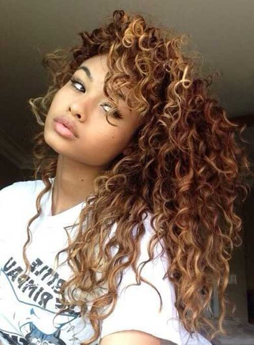 30 Super Long Layered Curly Haircuts Hairstyles