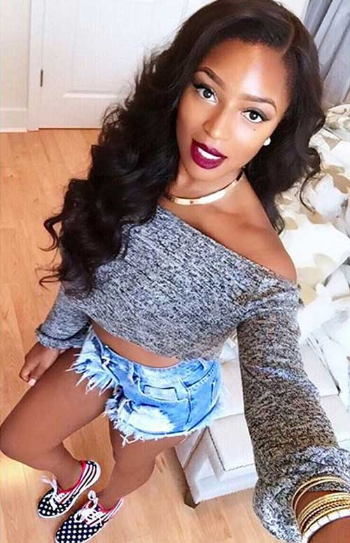Awesome 20 Black Women Long Hair Hairstyles Amp Haircuts 2016 2017 Short Hairstyles For Black Women Fulllsitofus