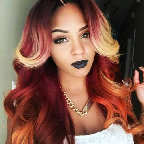 20+ Black Women Long Hair | Hairstyles & Haircuts 2016 - 2017