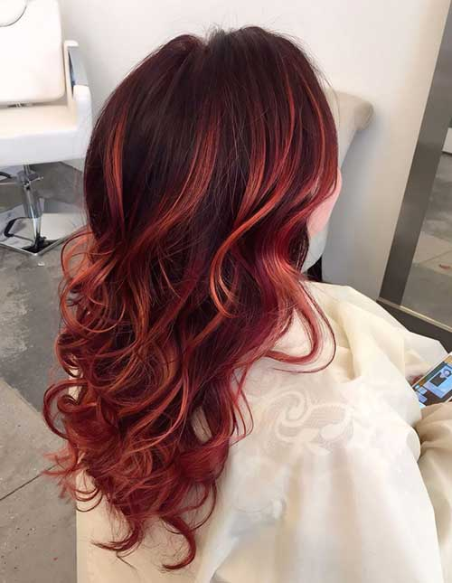 Newest Red Colors for Hair