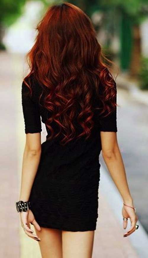 Red Hair Curly Hairstyles