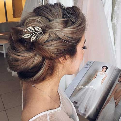 Perfekte Hochzeit Haarknoten Fur Den Blickfang Frisuren Trends 2018