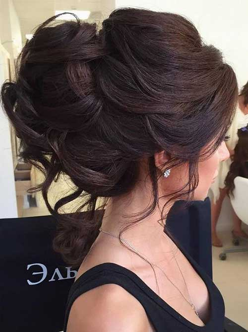 Perfect Wedding Hair Bun For Eye Catching Look Hairstyles - Wedding hairstyle buns