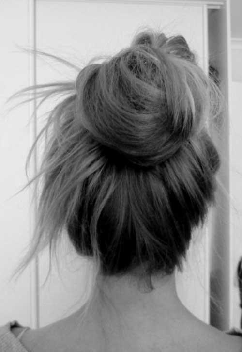 High Bun Hairstyles-10