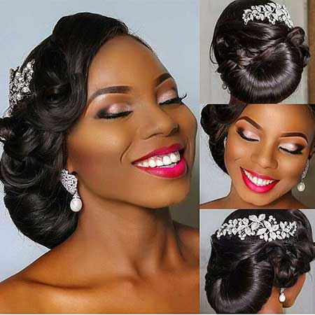 17 Super Updo Wedding Hairstyles for Black Women | Hairstyles ...