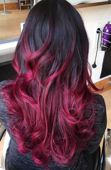 amazing black and red colored hairstyles hairstyles haircuts 2016 2017. Black Bedroom Furniture Sets. Home Design Ideas
