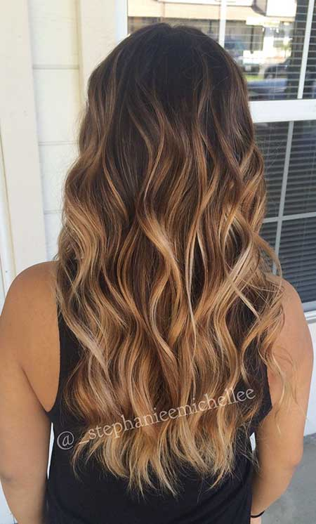 30 Pics Of Balayage Ombre Long Hairstyles Hairstyles