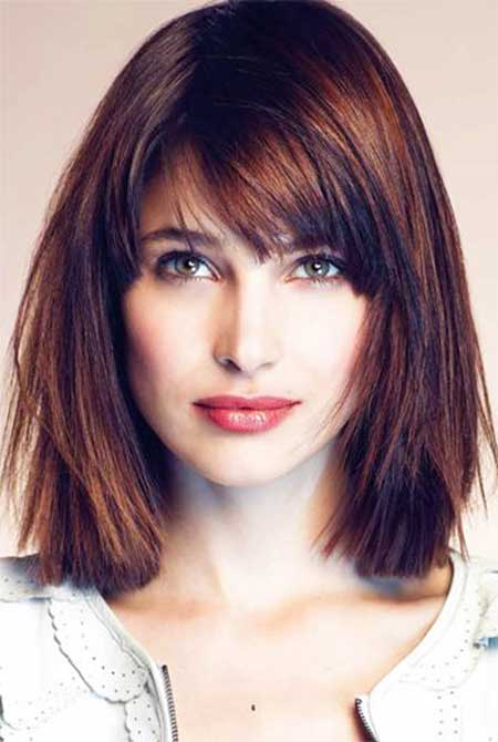 2 Choppy Long Bob Hairstyle