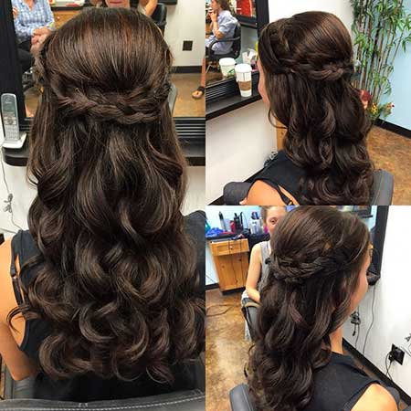 30 Gorgeous Braided Half Up Half Down Hairstyles ...