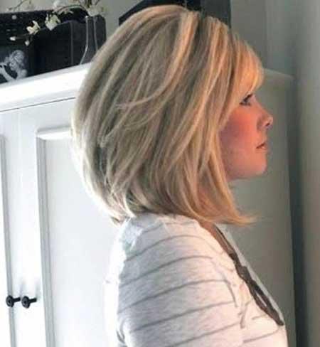 21 Medium Length Layered Haircuts With Bangs