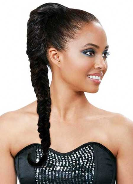 Inspiring Ponytail Styles for African American Hair ...