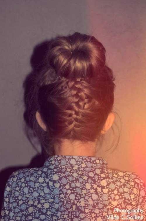 High Bun Hairstyles-8