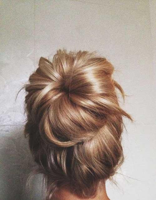 High Bun Hair