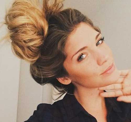 Amazing High Buns You Want to Try for Hot Summer Days | Hairstyles ...