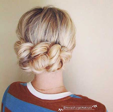 Big, Crown, Updo, Bun