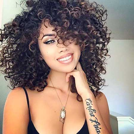 Kinky Curly Hair Curly Hair Color, Ral Hair, Curly Hairstyles