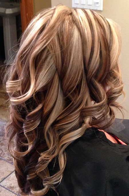 New Blonde and Brown Colored Hairstyles | Hairstyles