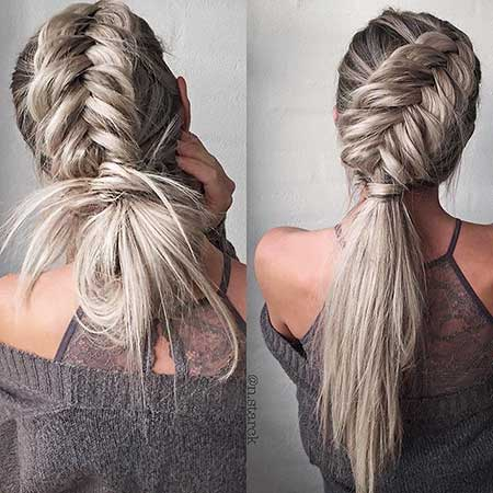 Nice Chic Braids For Long Hair