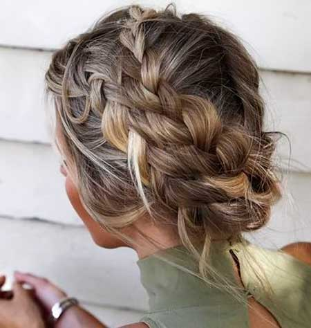 Prom Hair with Braids
