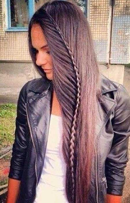 Fishtail, Trenza, Long