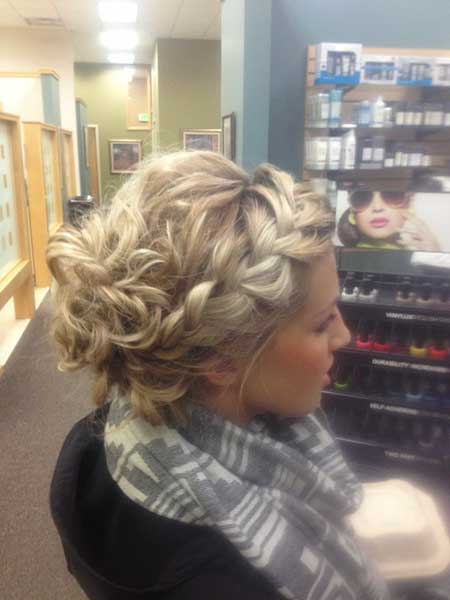 Dance, Hairdos, Updo, Wedding, Prom, Curls