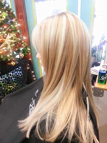 Platinum Hts Blonde Lowlights, Highlights,