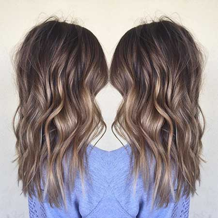 Subtle Balayage Brunette Caramel Subtle Brunette Highlights, Balayage, Brown Balayage