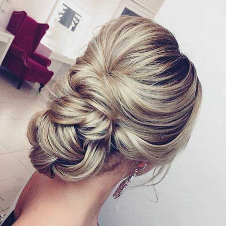 Wedding, Inspiration, Long, Updo