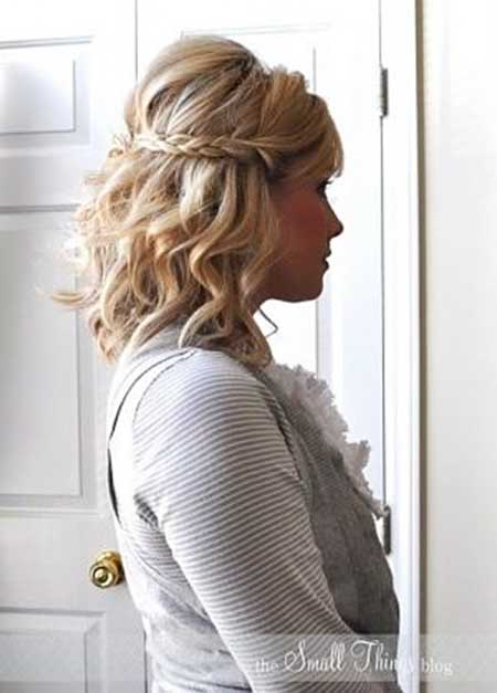 Wedding ideas Make Up, Short Hair, Updo