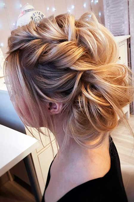 Long, Wedding, Updo, Bun