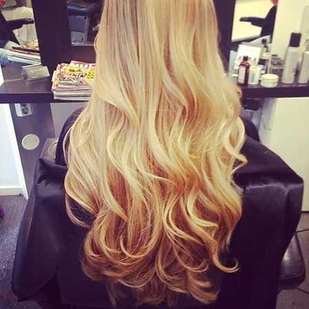 Haircolor Blondes, Curls, Ombre, Long Hair, Color, Length,