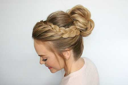 Amazing, Short, Updo, Wedding, Bun