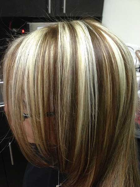 Chunky Highlights Blonde Highlights, Highlights, Blonde Highlights,