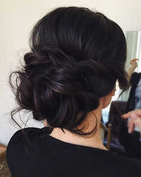 Natural, Wedding, Updo, Up
