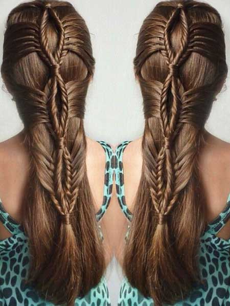 Long, Fishtail, Trenza