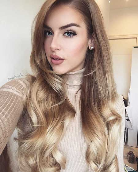 Blonde Balayage Y Warm Hair Color Blonde Y, Uk, Long, Clip