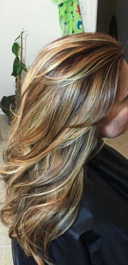 New Blonde And Brown Colored Hairstyles Hairstyles
