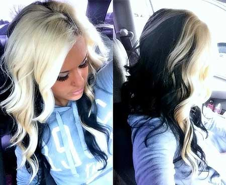 Natural Blondes Platinum Blonde, Ombre, Dark, Tips, Brown, Black, Blonde
