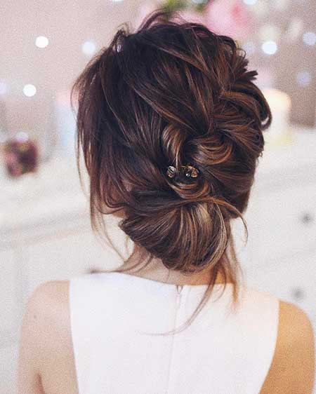 Long, Wedding, Cool, Updo, Messy