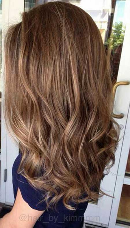 Soft Autumn Balayage Color, Balayage, Brown Hair, Highlights